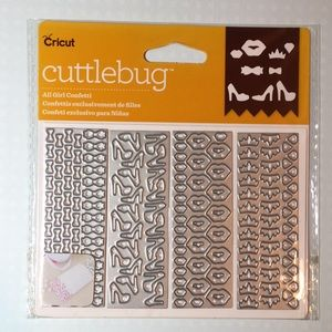 Cricut Cuttlebug All Girl Confetti Dies NEW